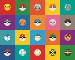 Pokémon Power Station Illustration and Wall Design