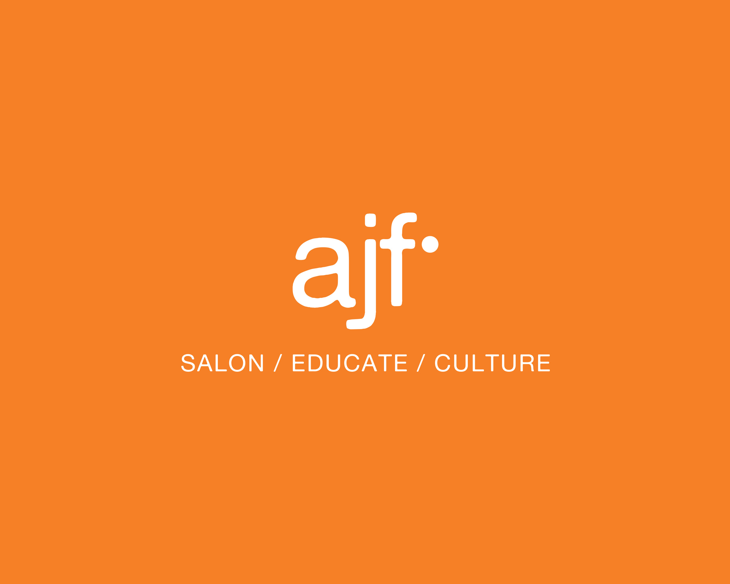 ajf salon Logo