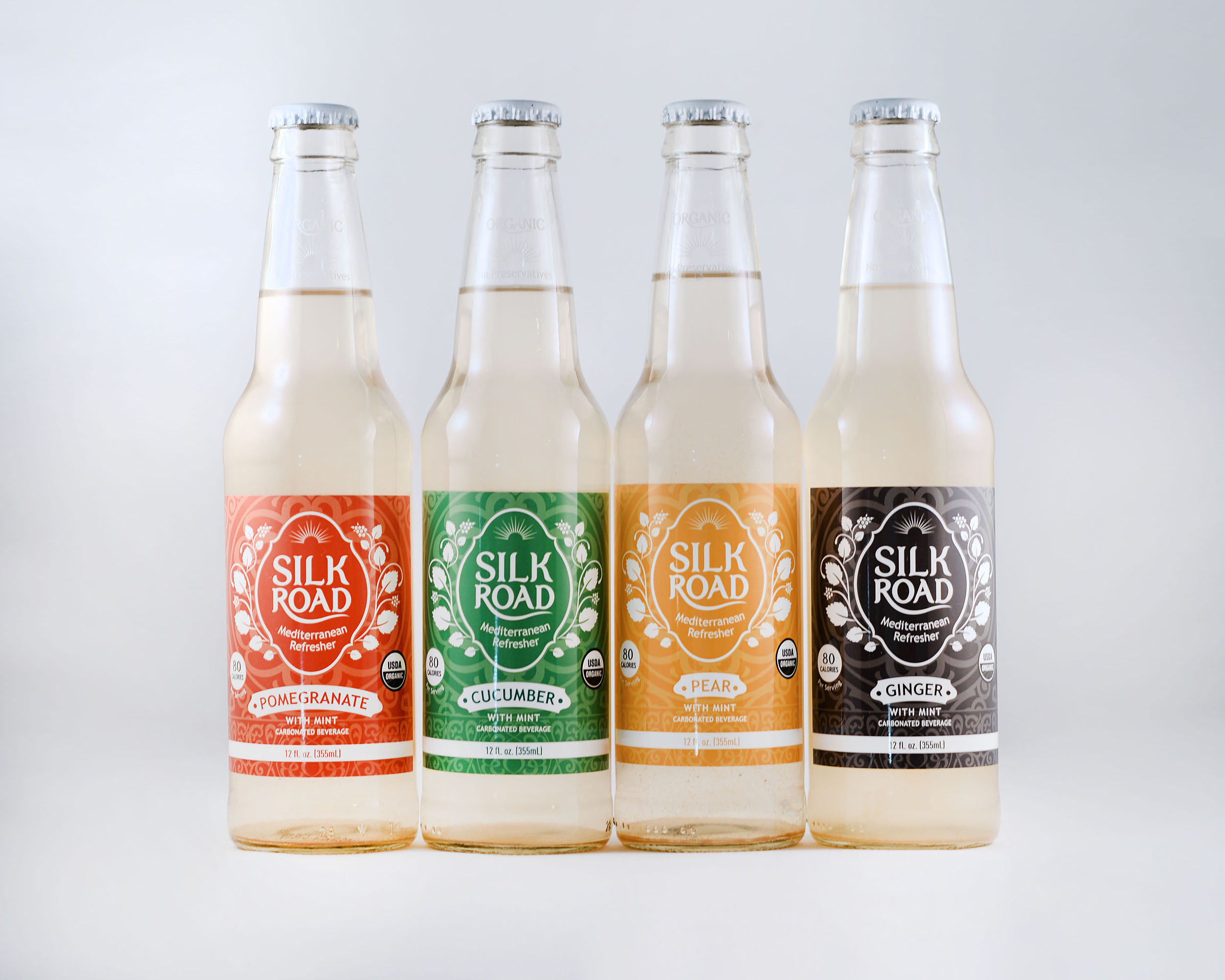 Silk Road Soda Package Design