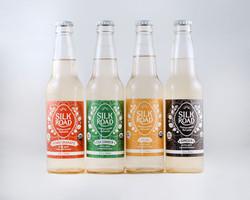 Silk Road Soda Package Design