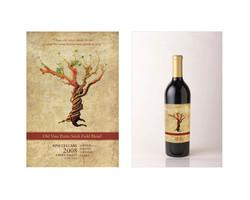RPM Cellars Illustration and Wine Label Design