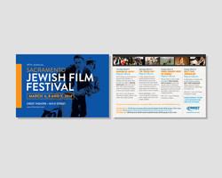 Jewish Film Festival Postcard