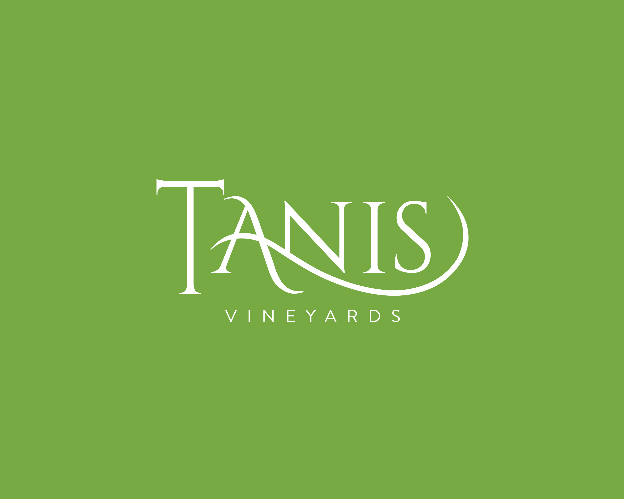 Tanis Vineyards Logo