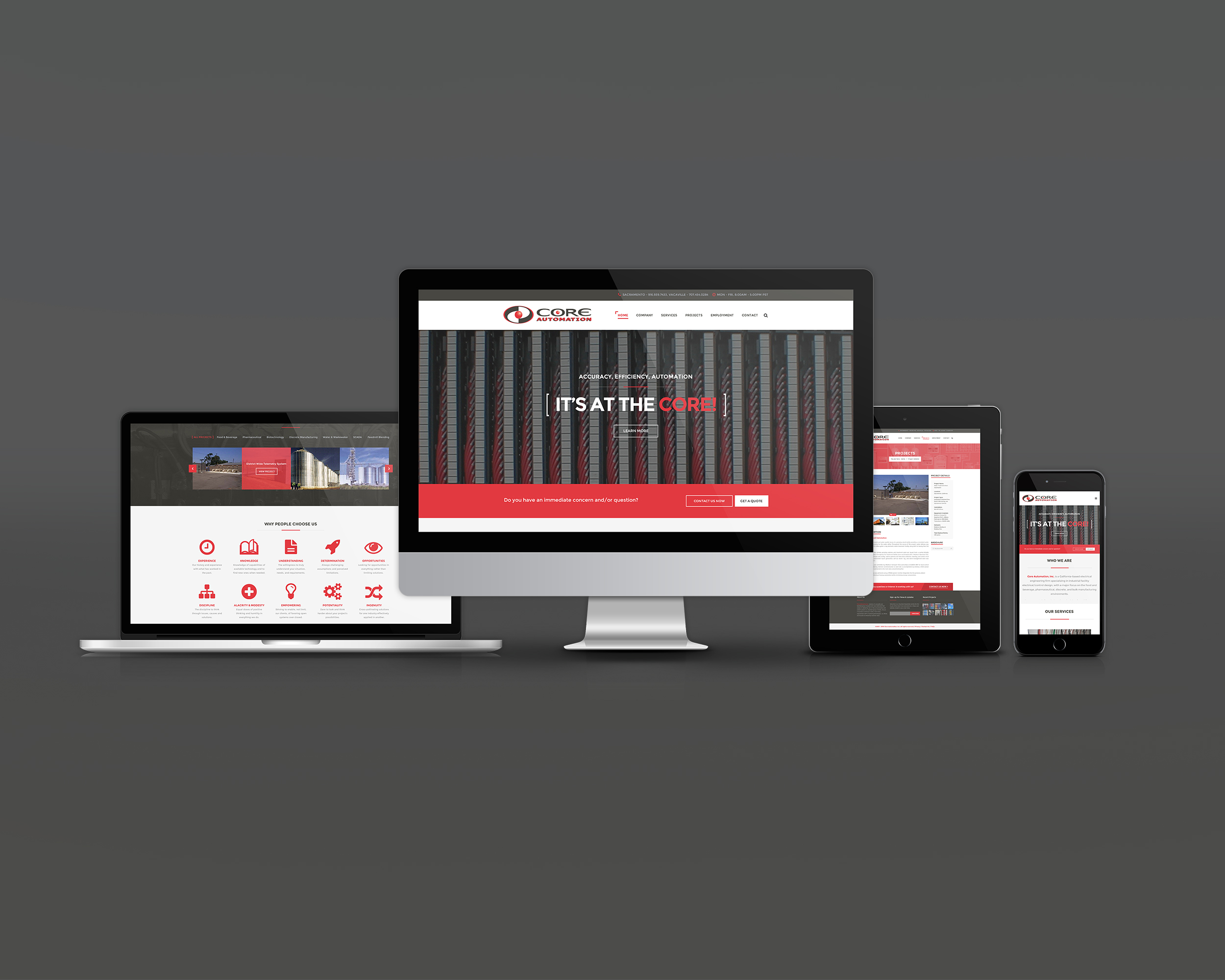 Core Automation Website