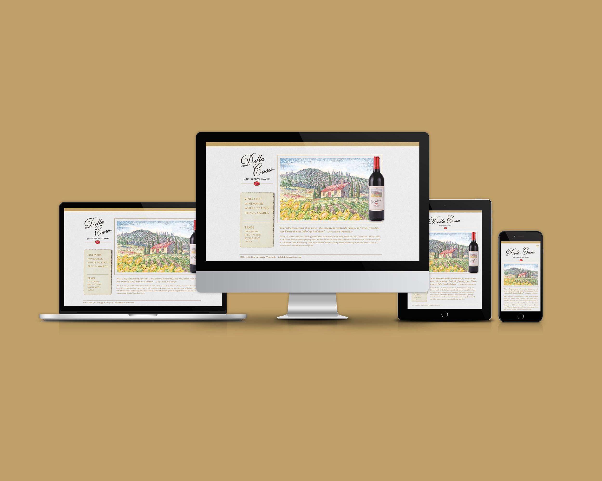 Della Casa Website