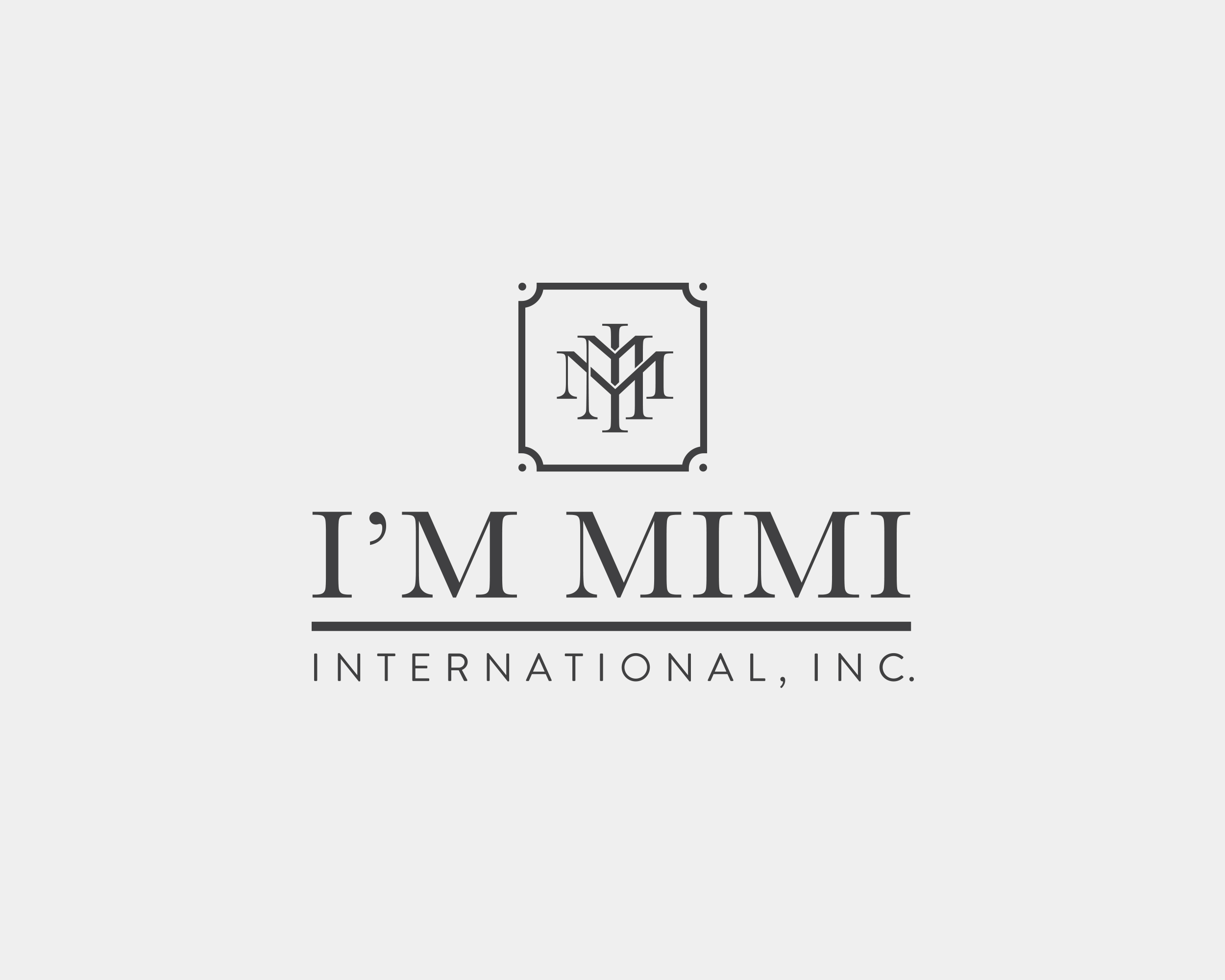 I'm Mimi International Logo