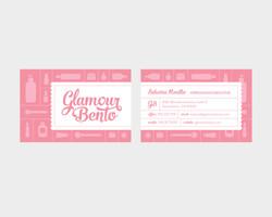 Glamour Bento Business Card Design