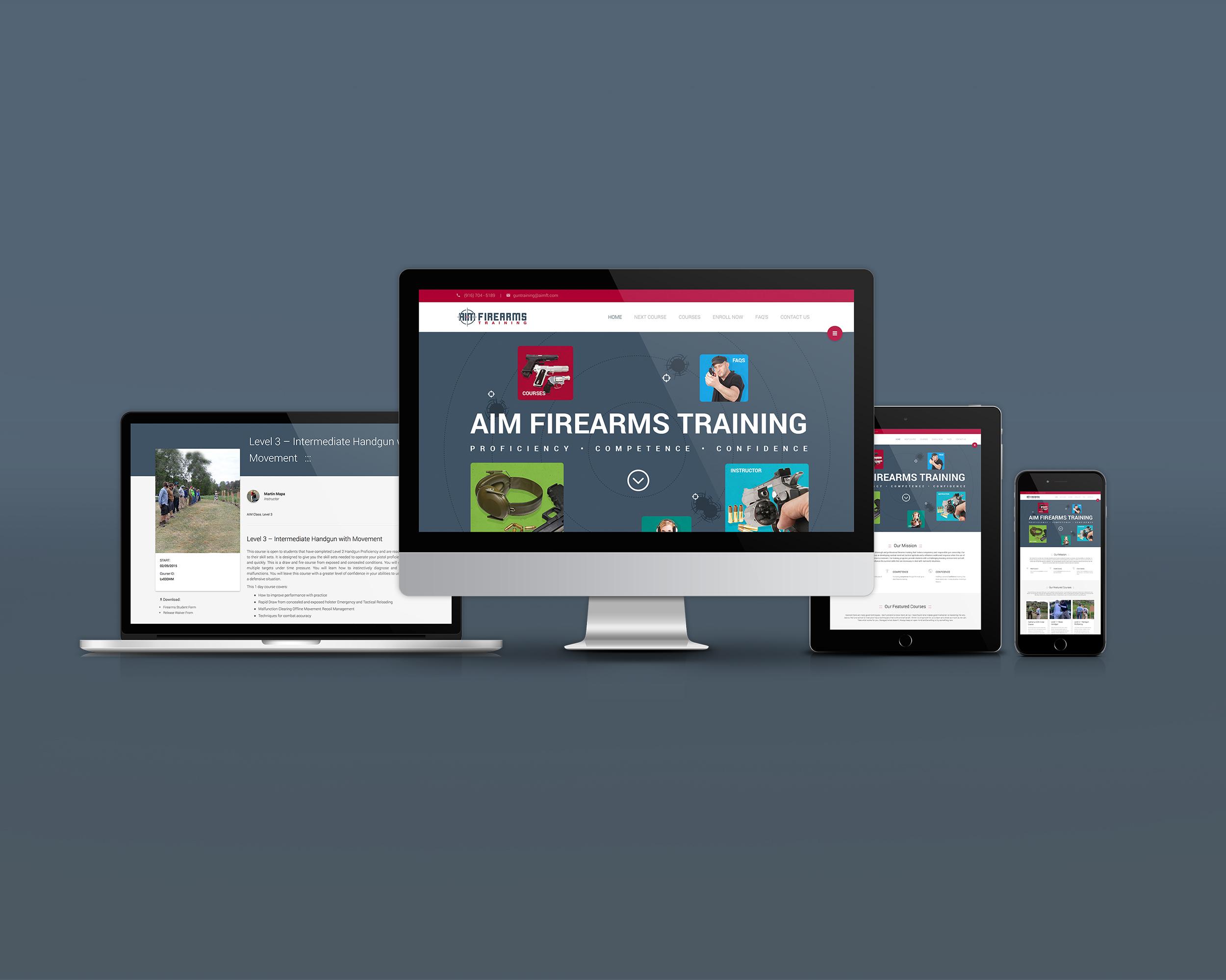 AIM Firearms Training Website