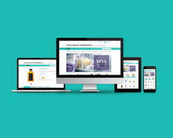 Total Beauty Experience E-Commerce Website