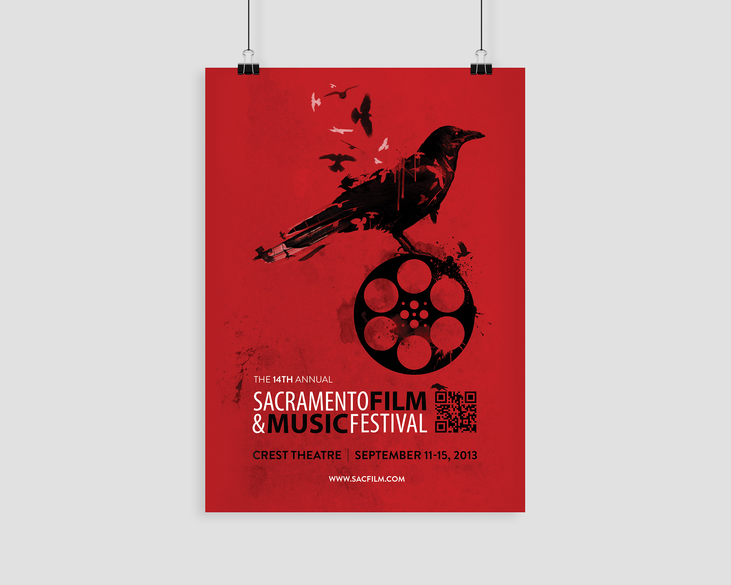 14th Annual Sacramento Film & Music Festival Poster