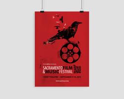 14th Annual Sacramento Film & Music Festival Poster