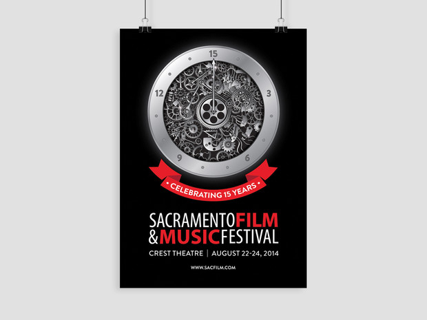 Sacramento Film & Music Festival Illustrator Art