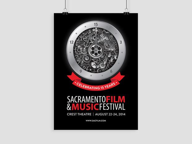 Sacramento Film & Music Festival Illustrator Art