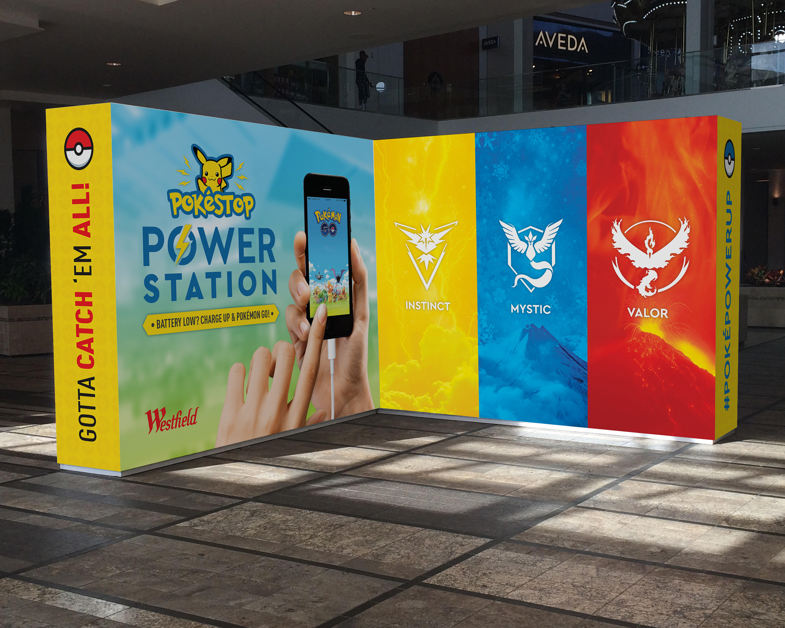 Pokémon Power Station Wall Design