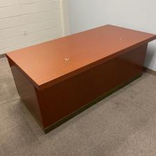 Knoll Reff Desk and Credenza Combo