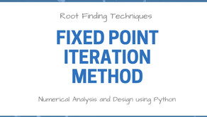 Root Finding Techniques | Fixed Point Iteration Method