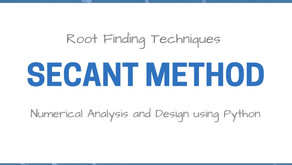 Root Finding Techniques | Secant Method