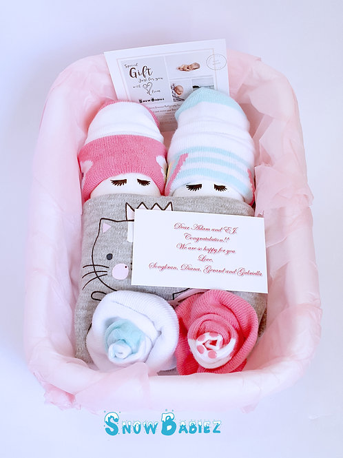 Duo SnowBabiez Hamper - GIRL