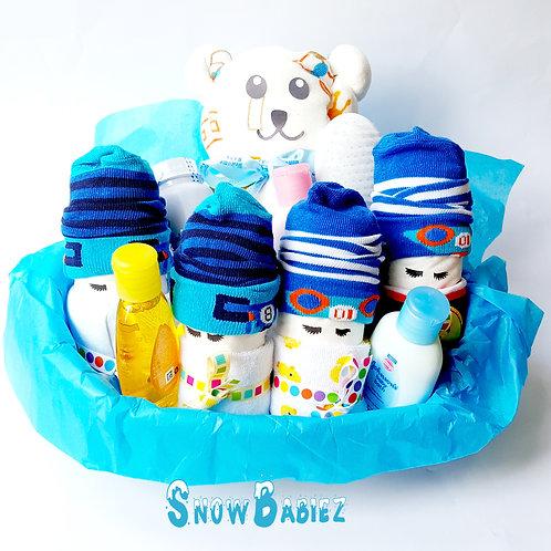 Bath Time SnowBabiez - Boy