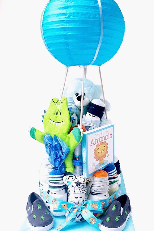 SnowBabiez Hot Air Balloon GRANDE - Boy