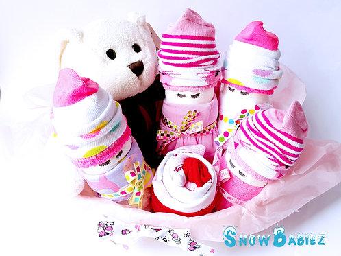 SnowBabiez Cupcake Combo - Girl