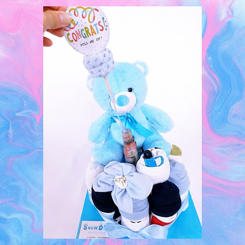Surprise SnowBabiez Money Cake