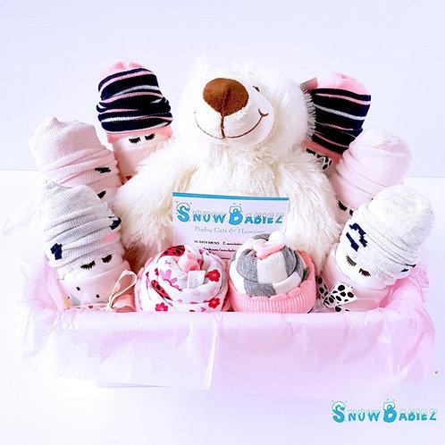 Twin SnowBabiez Hamper - Girl