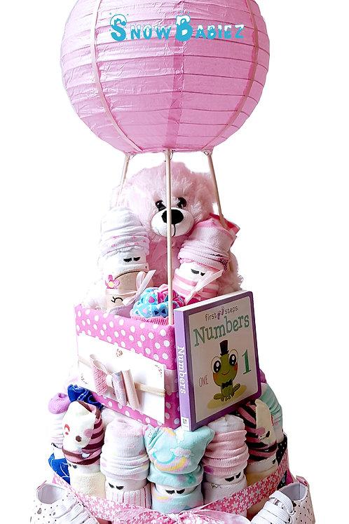 SnowBabiez Hot Air Balloon GRANDE - GIRL