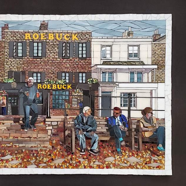 """Richmond Hill - The Roebuck"" by Shug Jones"