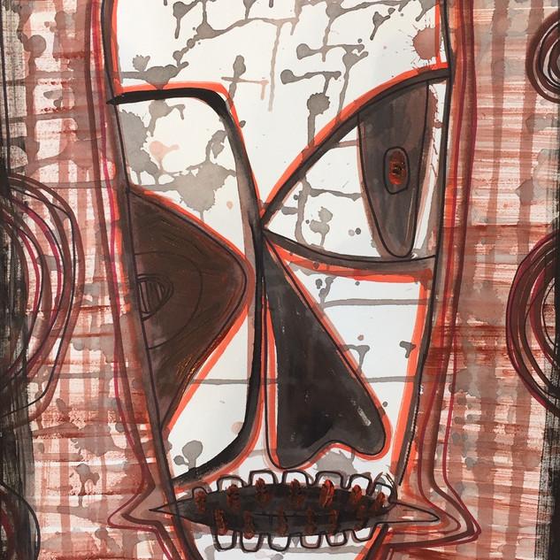 """Rib Eye Man"" by Pamela Irving"