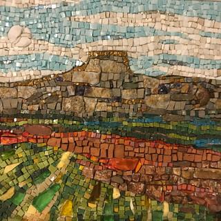 """""""Santa Fe Landscape"""" by Mary Lou Romano"""