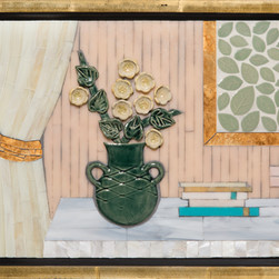 """""""Emerald Vase in Pink"""" by Ruth Tyszka"""