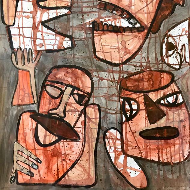 """""""Savage Men"""" by Pamela Irving"""