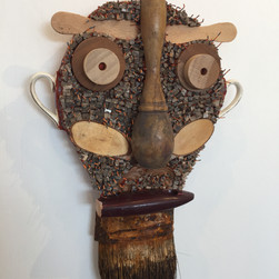 """Minister of Wooden Personalities"" by Pamela Irving"