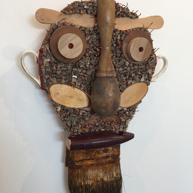 """""""Minister of Wooden Personalities"""" by Pamela Irving"""