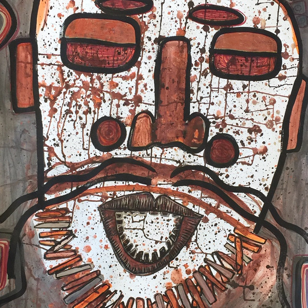 """""""Hirsute Man"""" by Pamela Irving"""