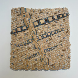 """Retro Squares"" by Rita Nabbe"