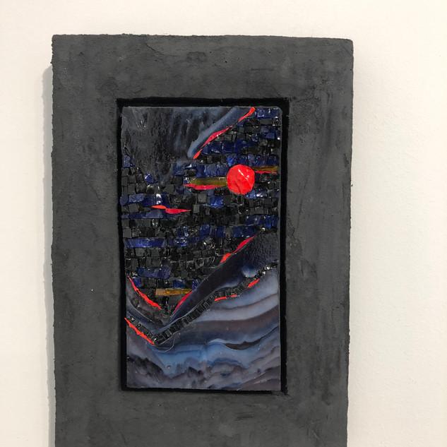 """Luna Rosa (Red Moon)"" by Verdiano Marzi"