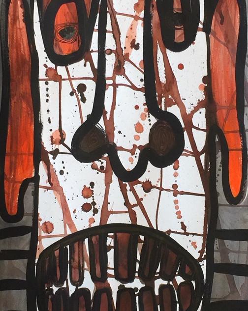 """Fissure Man"" by Pamela Irving"