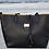 Thumbnail: The Venetian Leather Tote With Makeup Pouch - Black