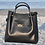Thumbnail: The Diana Luxurious Shoulder Bag With Matching Wallet - Black