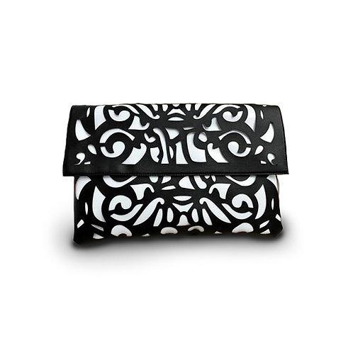 Fluo Envelope Clutch Black