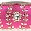 Thumbnail: Olive Diamond Crystal Clutch - Pink