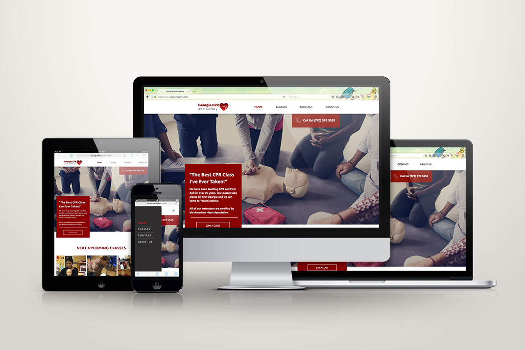 Georgia CPR and Safety Website