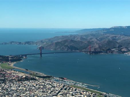 #33 Bay Tour 旧金山湾区低空飞行