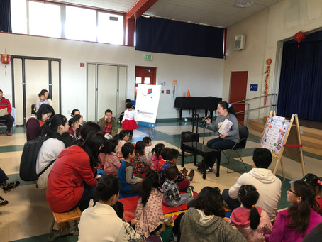 BookKnock sponsored Spring Festival Themed Story Time with local communities