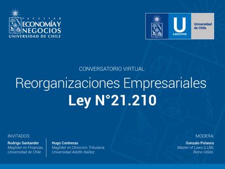 Reorganizaciones Empresariales/ Ley Nº21.210
