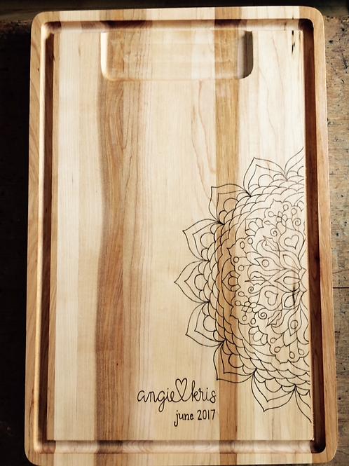 Mandala Cutting Board
