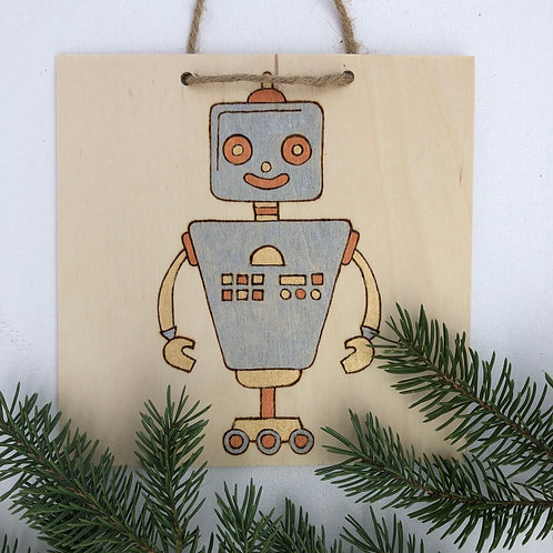 DIY Burn & Brush Robot