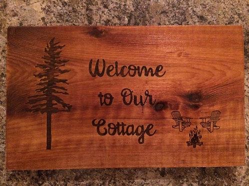 Camp Sign, Cottage Sign, RV Sign